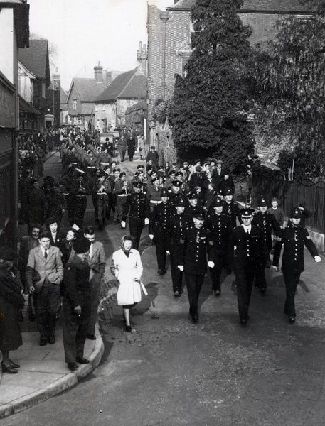 British Legion Parade at Petworth – November 1946