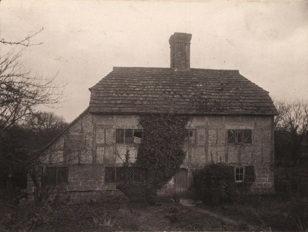 A cottage at Bolney, 1908