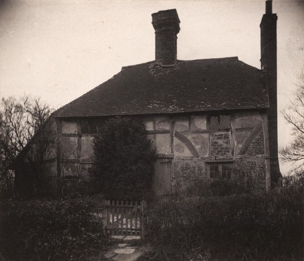A cottage at Twineham Green, 1908