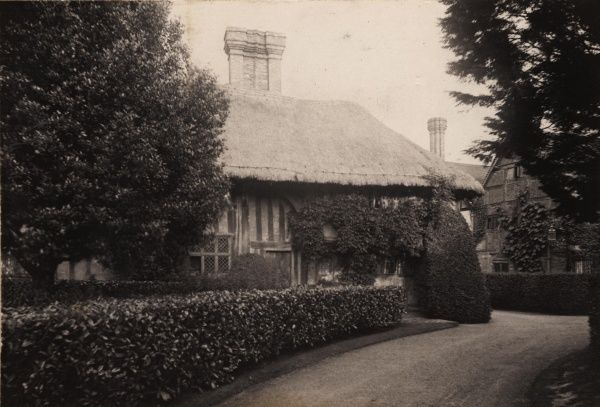 Old Place at Lindfield, 1908