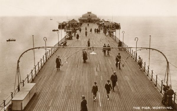 The Pier, Worthing, 1920s