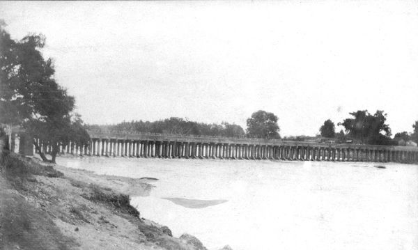 RSR 2/6th Battalion, 'Battalion crossing Cauvery at Seringapatam""
