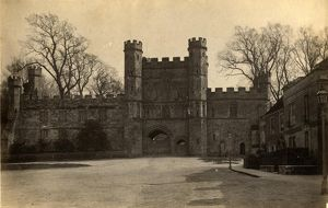 west sussex record office/general photographic/abbey gate surrounding buildings battle 1 may