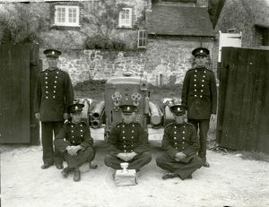 west sussex record office/george garland/amberley auxiliary fire service august 1943