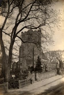 west sussex record office/general photographic/bell tower st mary virgin battle 1 may 1890