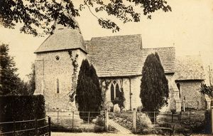 west sussex record office/general photographic/exterior st james church ashurst 1 may 1893