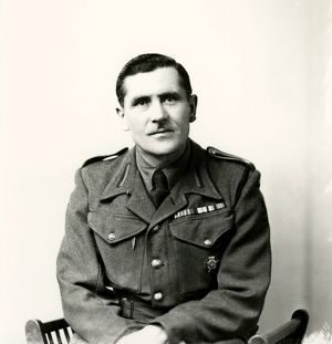 west sussex record office/george garland/portrait polish sergeant may 1948