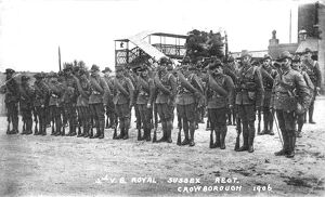 west sussex record office/royal sussex regiment/rsr 16th battalion sussex yeomanry crowborough