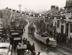 west sussex record office/george garland/storrington coronation celebrations may 1937