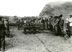 west sussex record office/george garland/sugar beet demonstration selham may 1948