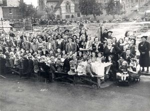 west sussex record office/lalouette/ve day street party lyon street bognor 8 may