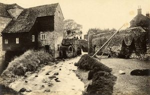 west sussex record office/general photographic/waterwheel bosham 18 may 1891