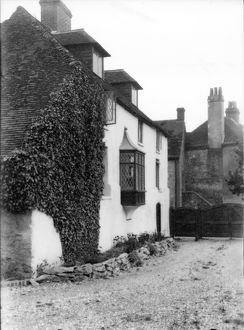 west sussex record office/george garland/white house amberley view may 1928
